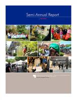 Fall 2013 Semi Annual Report Cover