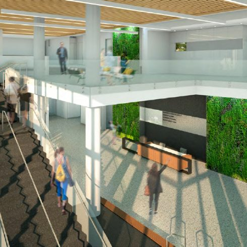 Wheaton Headquarters Lobby