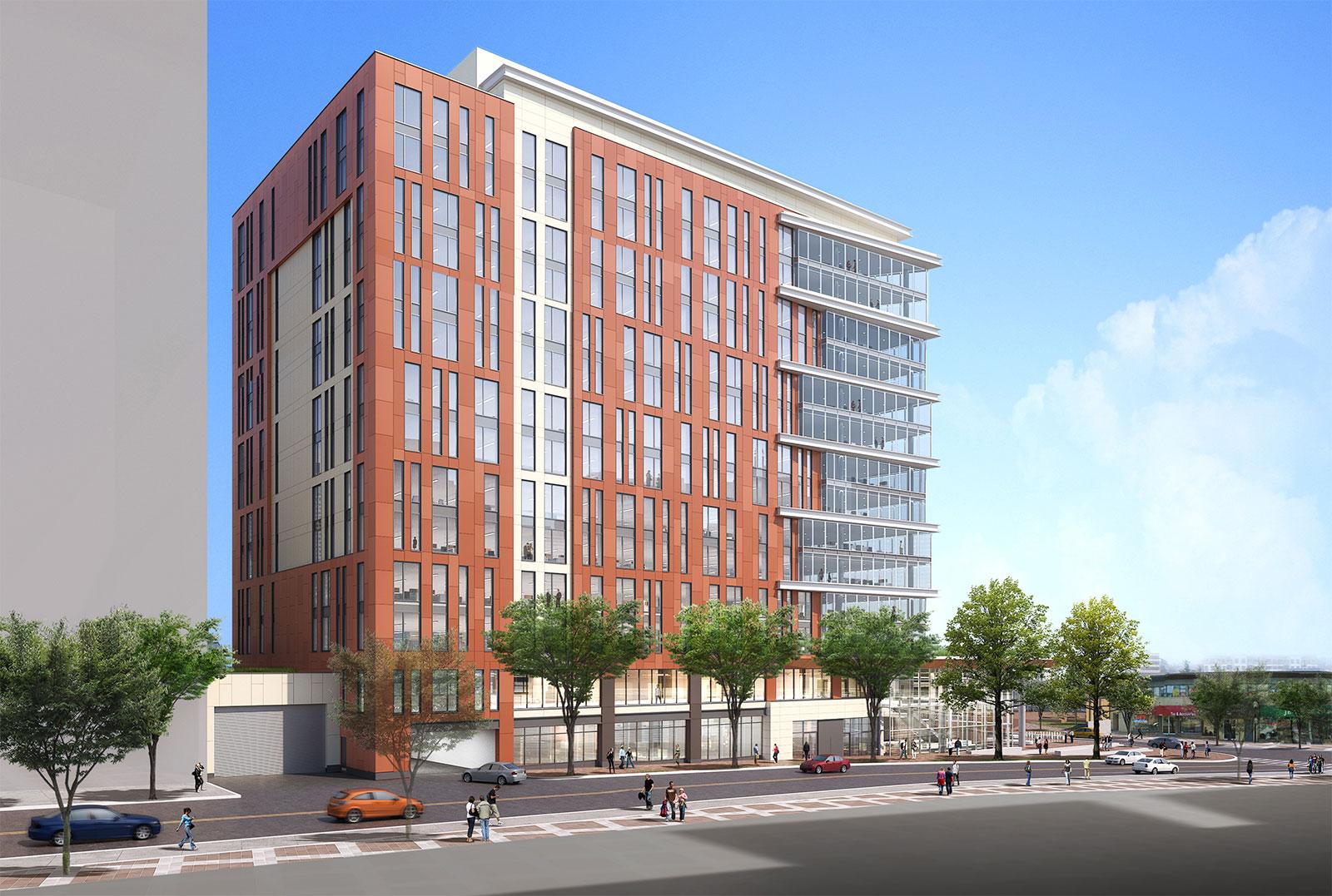 Exterior-NW-Grandview 14story